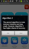 Screenshot of Photo Recovery