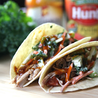 Mongolian Pulled Pork Tacos.