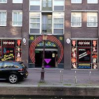 Amsterdam a luci rosse di