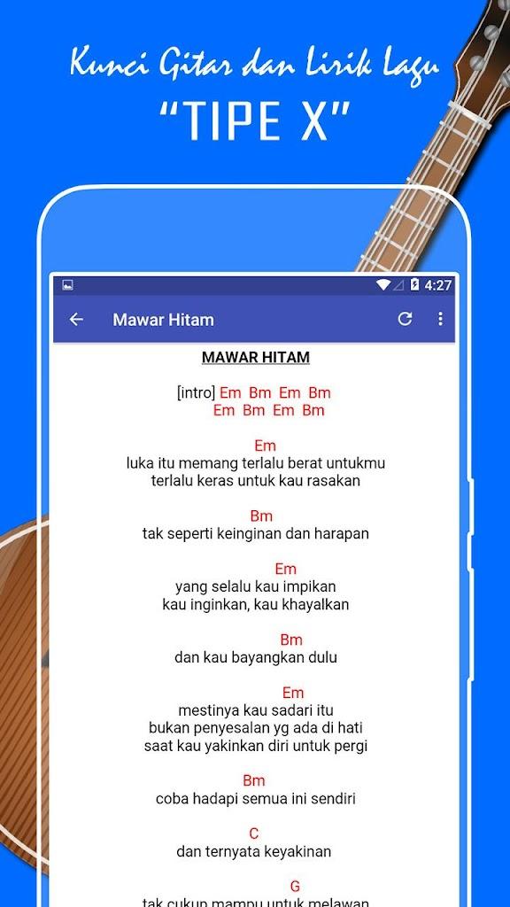 Kunci Gitar Tip X : kunci, gitar, دانلود, Kunci, Gitar, Lirik, Lengkap, Android, Com.kuncigitardanlirik.tipexchord, رایگان