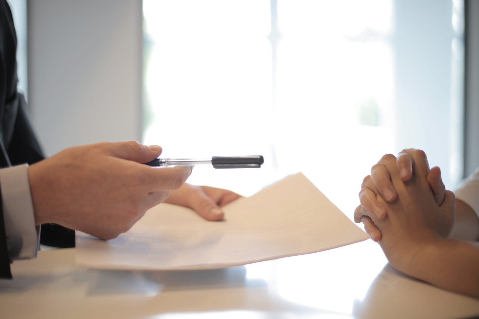 how to get out of a trust deed