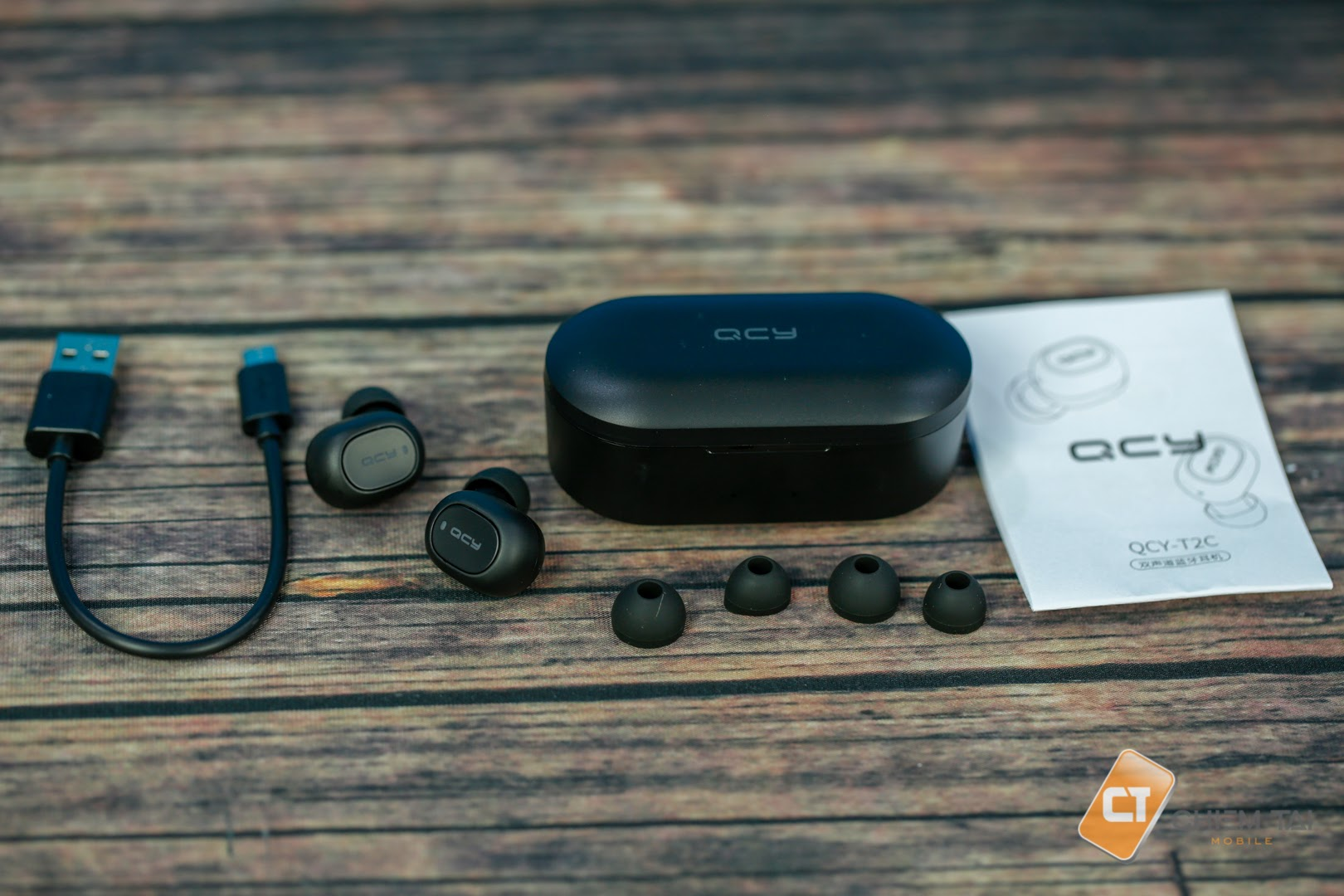 Tai nghe Bluetooth True Wireless QCY T2C