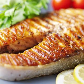 Simple Salmon Steaks.