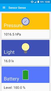 Sensor Sense (sensors) - screenshot thumbnail