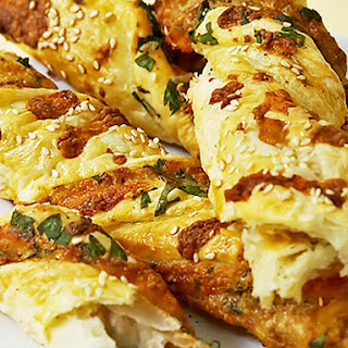 Southwest Cheesy Bread.