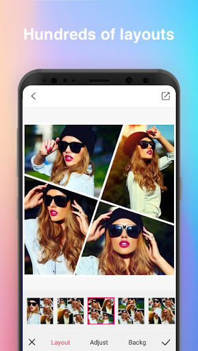 Beauty Collage Maker - Photo Collage PicGrid - screenshot