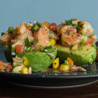 Spicy Shrimp Avocado Salad.