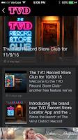 Screenshot of The Vinyl District
