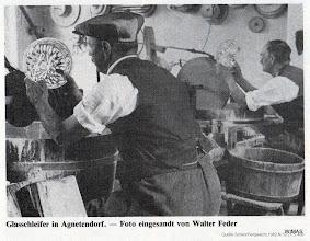 Photo: Agnetendorf, Glasschleifer
