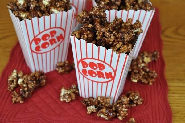 Chocolate And Popcorn Together...how Great Is That!