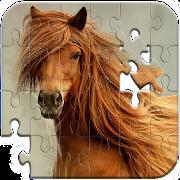 بانوراما الألغاز الخيول APK
