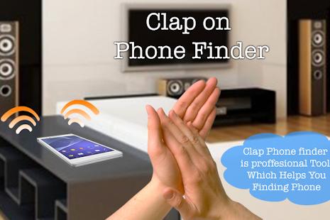 Clap Phone Finder - Phone Finder 2018 - náhled