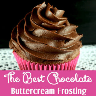 The Best Chocolate Buttercream Frosting.