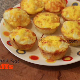 Potato and Egg Breakfast Puffs.