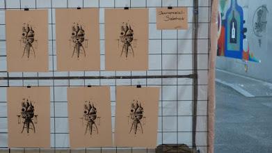 Photo: BundeskunstHALL OF FAME; Siebdruck Mr. Cornetto; Nicolas Barrome Forgues (JEANSPEZIAL)