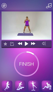 Cardio Workout Hiit Training Exercise Routine