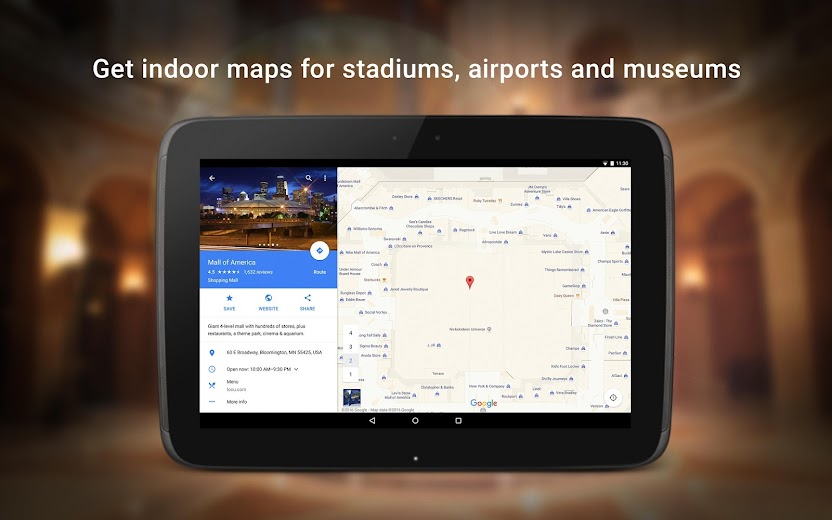 Screenshot 15 for Google Maps's Android app'