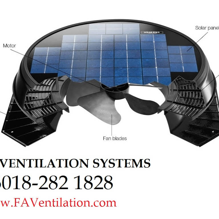 Solar Roof Attic Ventilator Fan In Johor Malaysia