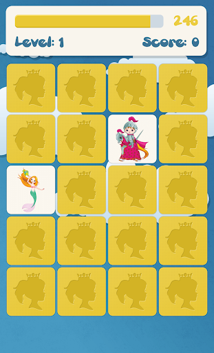 Princess memory game for kids 2.7.6 screenshots 4
