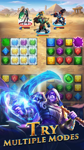 Télécharger Gratuit War and Wit: Heroes Match 3 APK MOD (Astuce) screenshots 2