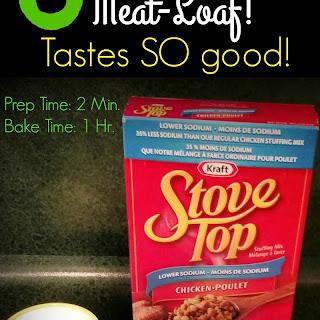 3 Ingredient Meat-Loaf.