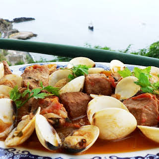 Portuguese Pork and Clam Stew.