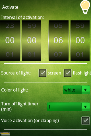 Nightlight Lite - screenshot