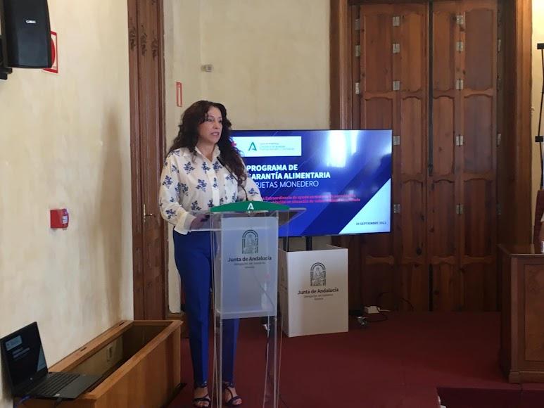 Consejera de Igualdad, Rocío Ruiz.