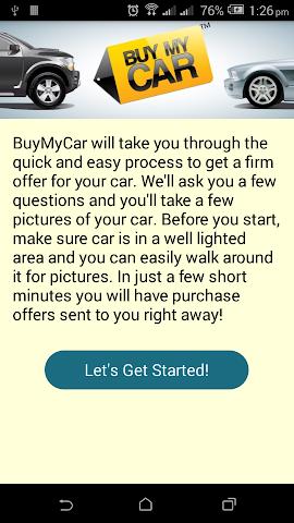 android Buy My Car Screenshot 0