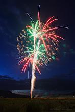 Photo: July 4 Fireworks, Bridgeport, California