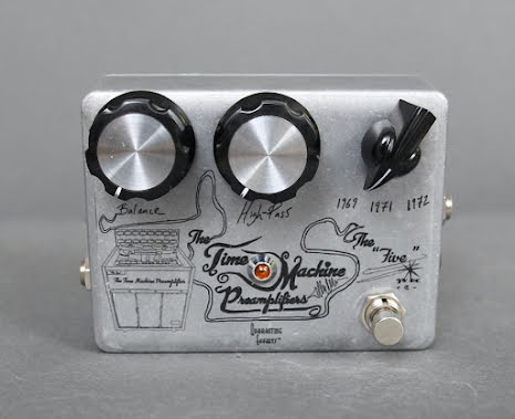 Quarantine Effects The Five Time Machine Preamplifier