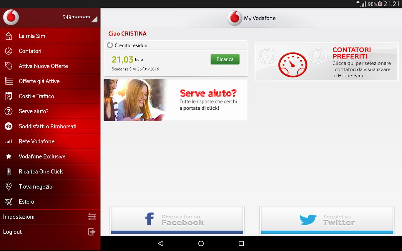 My Vodafone- screenshot