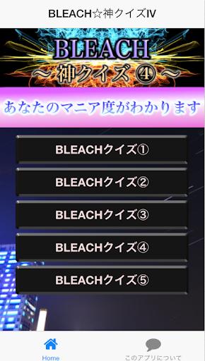 神クイズⅣ forBLEACH