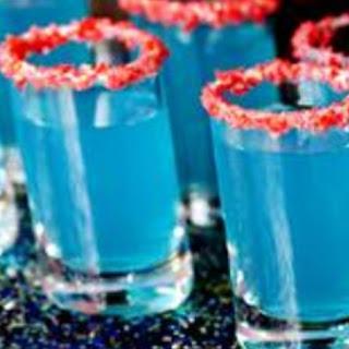 Blue Alcoholic Shots Recipes.