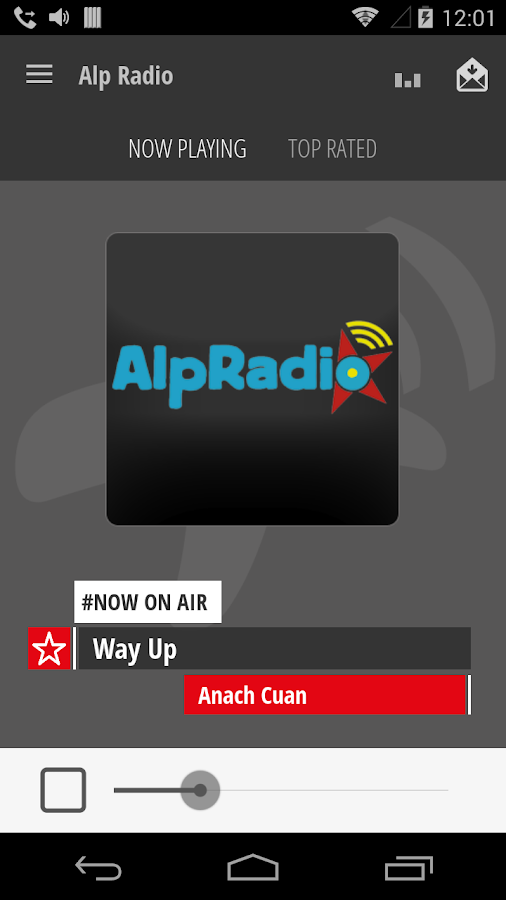 Swiss Internet Radio- screenshot