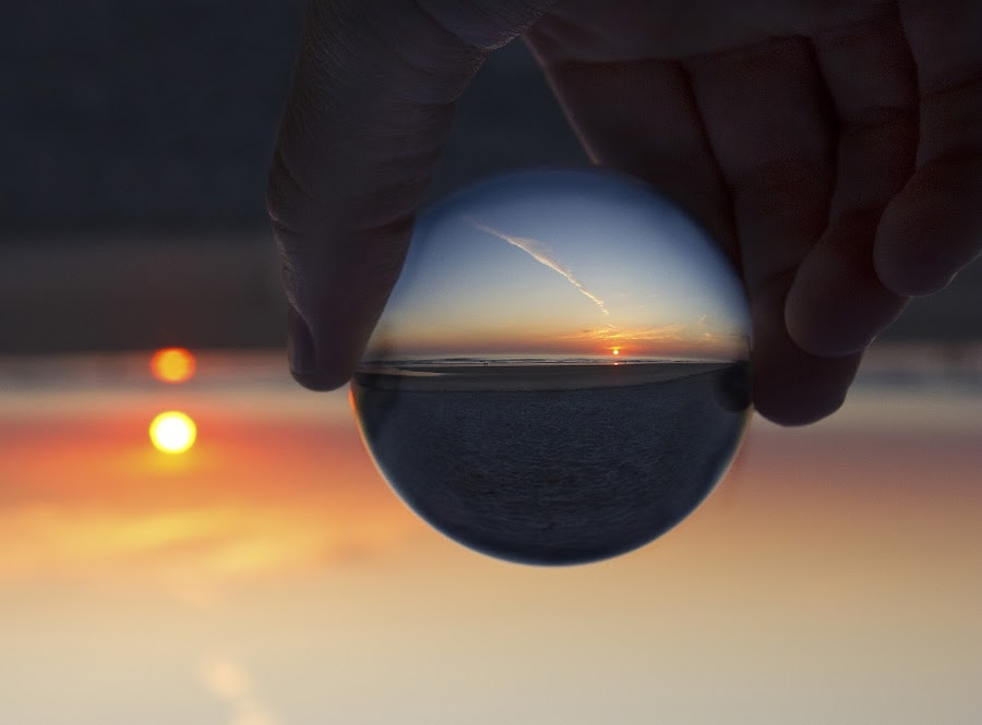 Sunrise Sphere by The  Donster - Landscapes Travel