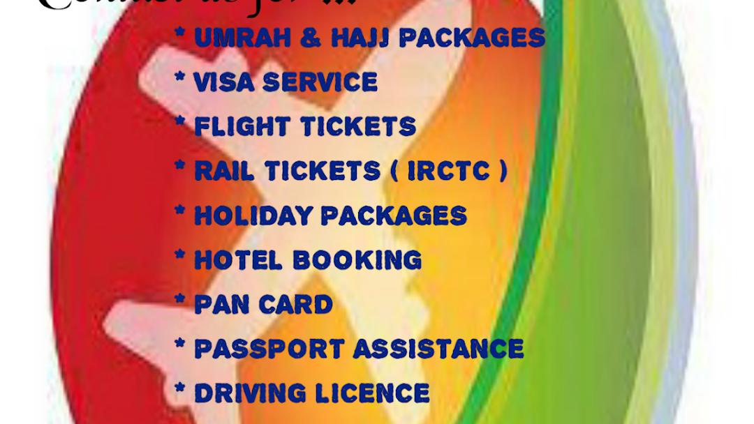 IMRAN TRAVELS (Hajj,Umrah,Flight Ticketing,Train ticketing