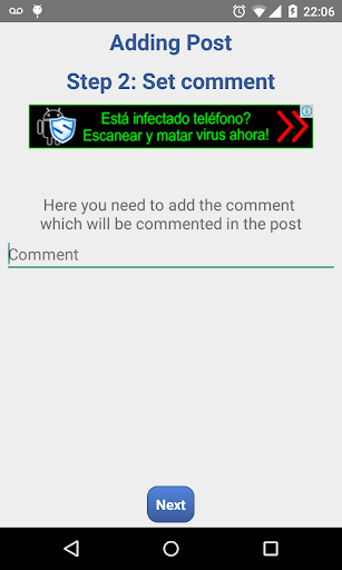 Auto Comment  screenshots 6