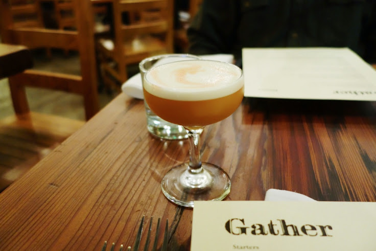 The Northern Exposure with Bank Note scotch, earl grey-maple, citrus and bitters. Photo: Brenda Ton.