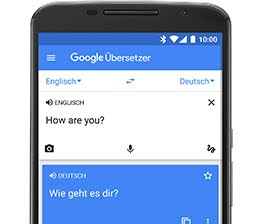 Übersetzer screenshot