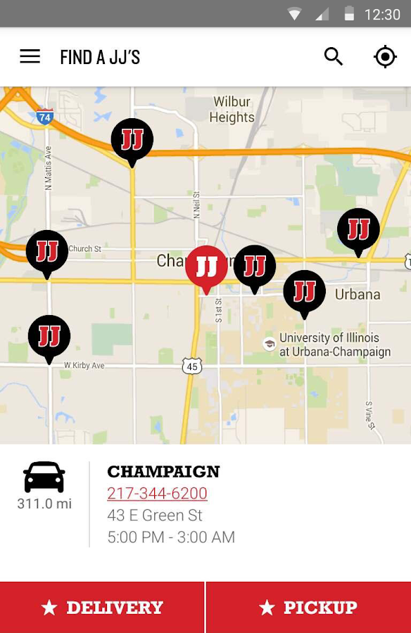 Jimmy John's Sandwiches- screenshot