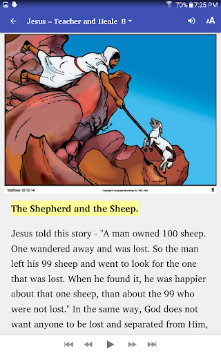 My Talking Bible Stories 1.3 screenshots 3