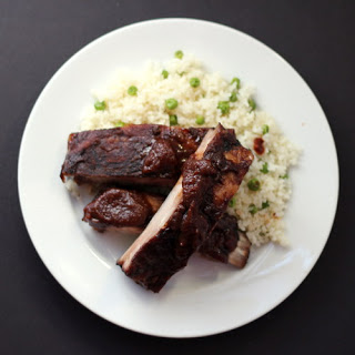 """Oven-Baked """"Barbecue"""" Ribs."""