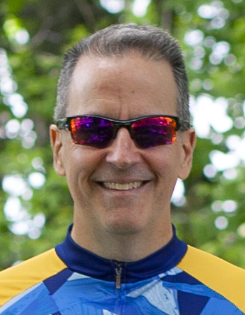 Headshot of Onshape's John Rousseau, who is cycling in the Pan-Mass Challenge ride this August to raise funds for cancer research.