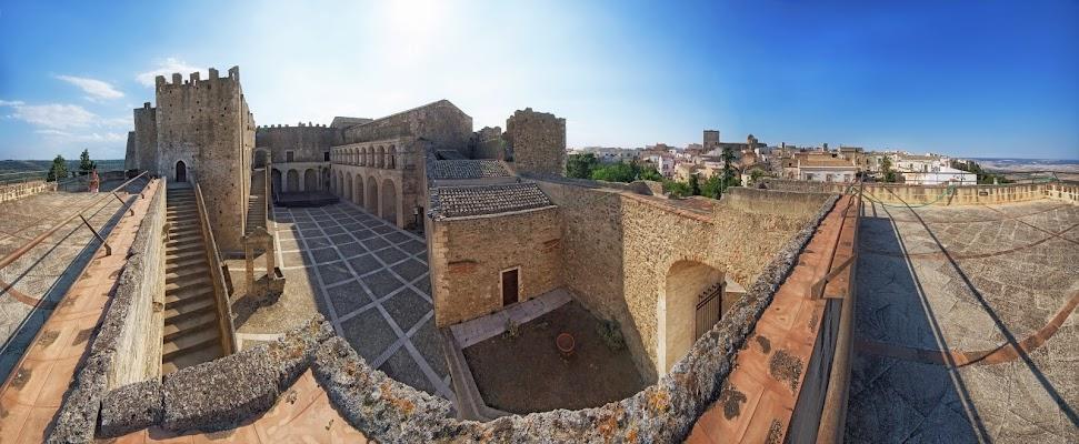 Miglionico, Basilicata - Panorama dal castello di Patrix
