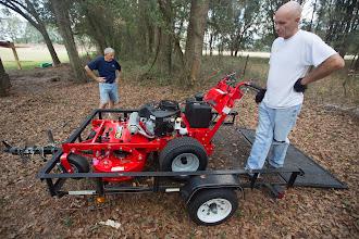Photo: the new SBA mower