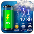 Weather Widget & Battery Checker file APK for Gaming PC/PS3/PS4 Smart TV