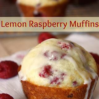 Lemon Raspberry Muffins.