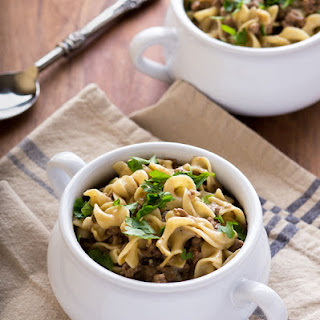 Homestyle Beef and Noodles.