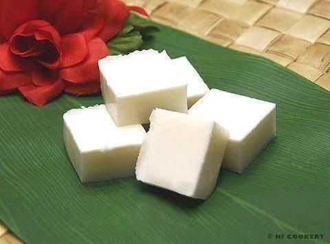 Haupia - Hawaiian Coconut Finger Pudding Recipe